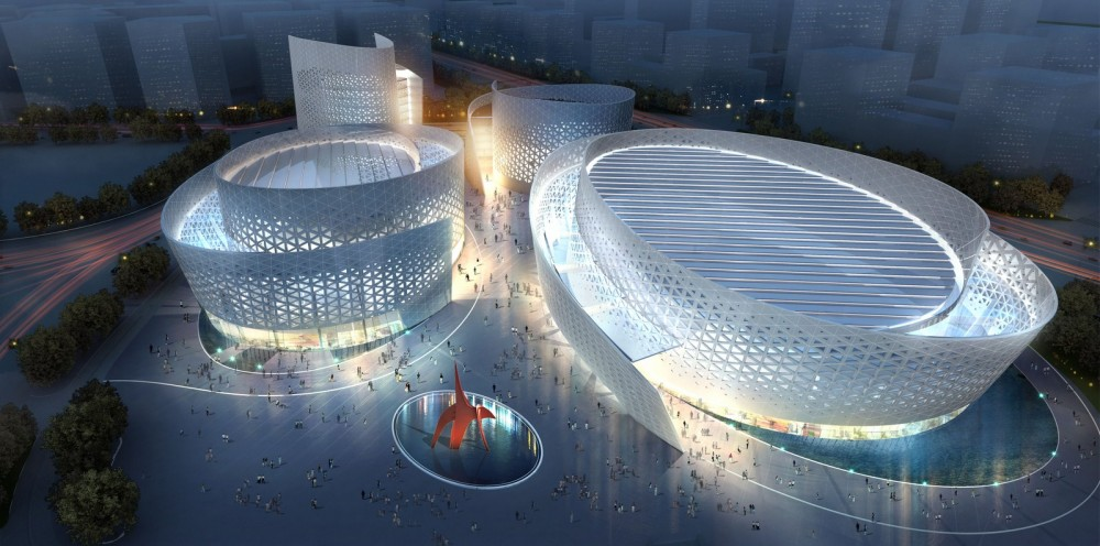 Massimiliano and Doriana Fuksas to design Cultural Center in Chengdu