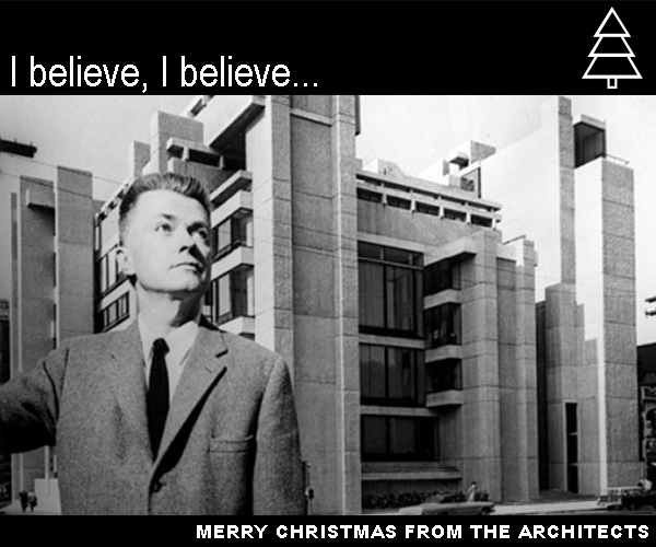 Christmas Cards From Famous Architects