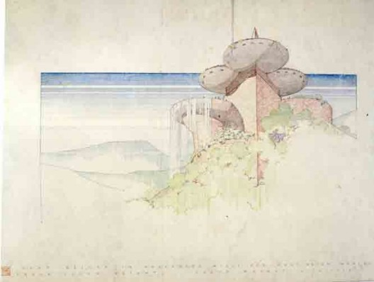 Frank Lloyd Wright, Huntington Hartford Athletic Club, 1947 (Frank Lloyd Wright Foundation)