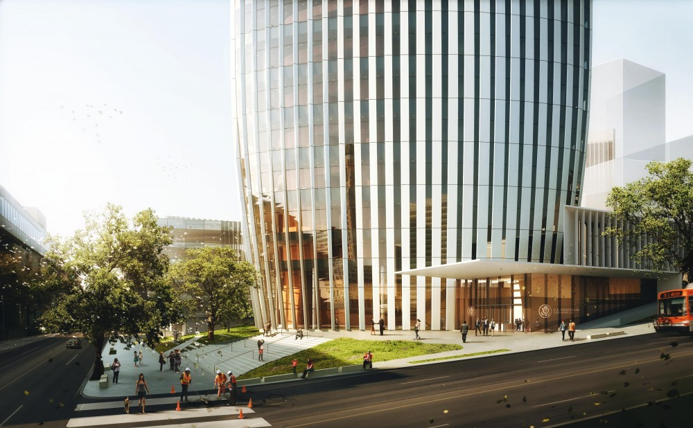 New United States Courthouse Competition Entry / Yazdani Studio of Cannon Design