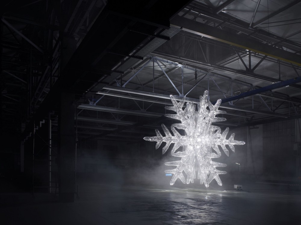 UNICEF Snowflake / Ingo Maurer + Baccarat