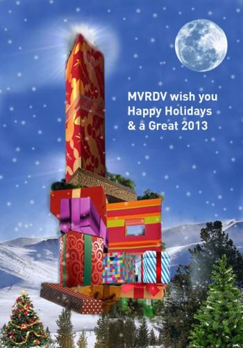 MVRDV Christmas MVRDV