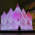 "Sony Building ""Crystal Aqua Trees"" Installation (11) © Daici Ano"