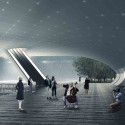 &#039;The Forest&#039; Detroit Riverfront Competition 1st Prize Winning Entry (7) under the knoll