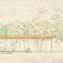 &#039;The Forest&#039; Detroit Riverfront Competition 1st Prize Winning Entry (9) section in the forest