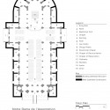 Haiti Cathedral Competition Entry (6) floor plan