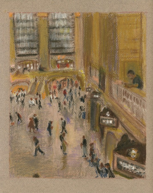 Grand Central Terminal Drawing Competition Winners