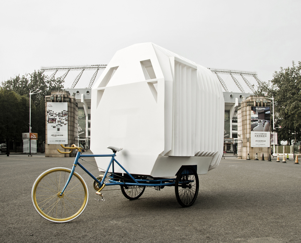 Tricycle House and Tricycle Garden / People's Architecture Office (PAO) + People's Industrial Design Office (PIDO)