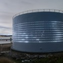 Silo 468: 'Kruunuvuori' Urban Light Art Piece (8) Courtesy of Lighting Design Collective