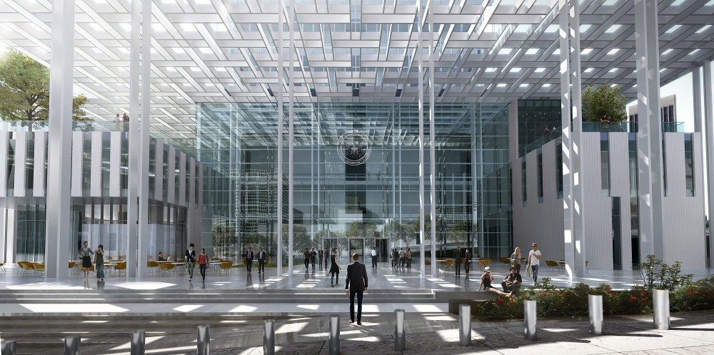 New United States Courthouse Competition Entry / NBBJ