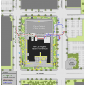 New United States Courthouse Competition Entry / NBBJ (7) Site Plan © NBBJ
