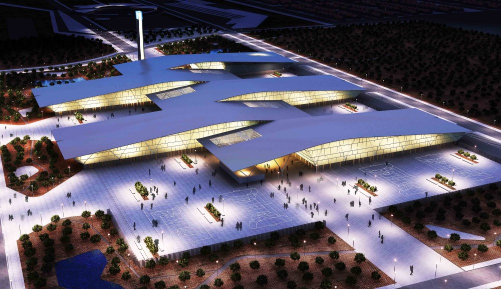 New Trade Fair Building Winning Proposal / Mario Corea Arquitectura