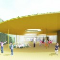 &#039;Mosaic&#039; Innovative, Bioclimatic, European School Complex Competition Entry (2) Courtesy of AREA (Architecture Research Athens)