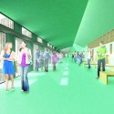 &#039;Mosaic&#039; Innovative, Bioclimatic, European School Complex Competition Entry (3) Courtesy of AREA (Architecture Research Athens)