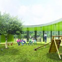 &#039;Mosaic&#039; Innovative, Bioclimatic, European School Complex Competition Entry (4) Courtesy of AREA (Architecture Research Athens)