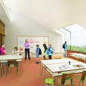 &#039;Mosaic&#039; Innovative, Bioclimatic, European School Complex Competition Entry (5) Courtesy of AREA (Architecture Research Athens)