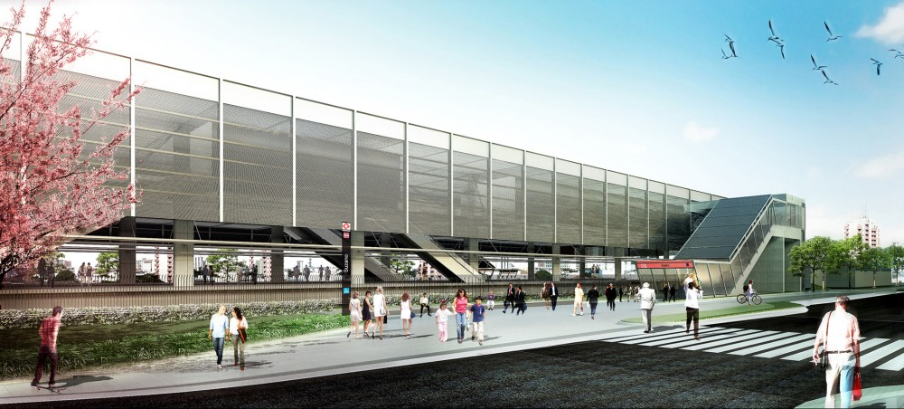 Metropolitan Train Station of Suzano Proposal / JBMC Arquitetura e Urbanismo