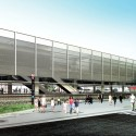 Metropolitan Train Station of Suzano Proposal (1) Courtesy of JBMC Arquitetura e Urbanismo