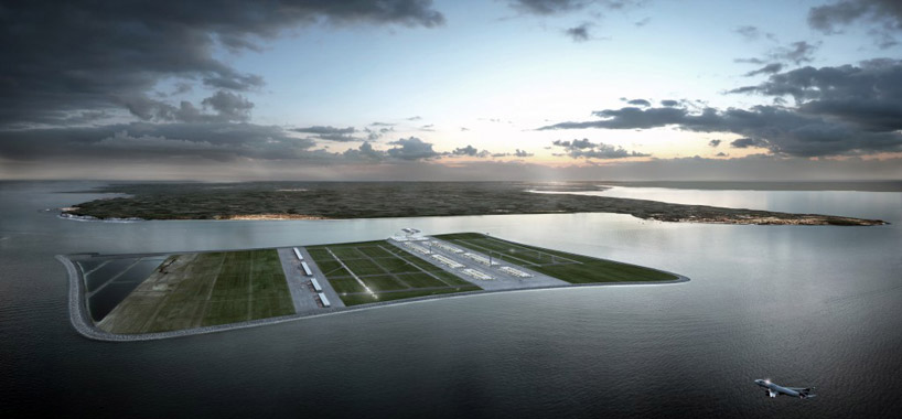 Beckett Rankine unveils Offshore Airport in the Thames Estuary
