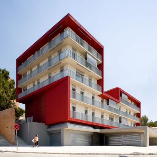 Social housing building in tarragona aguilera guerrero - Arquitectos tarragona ...