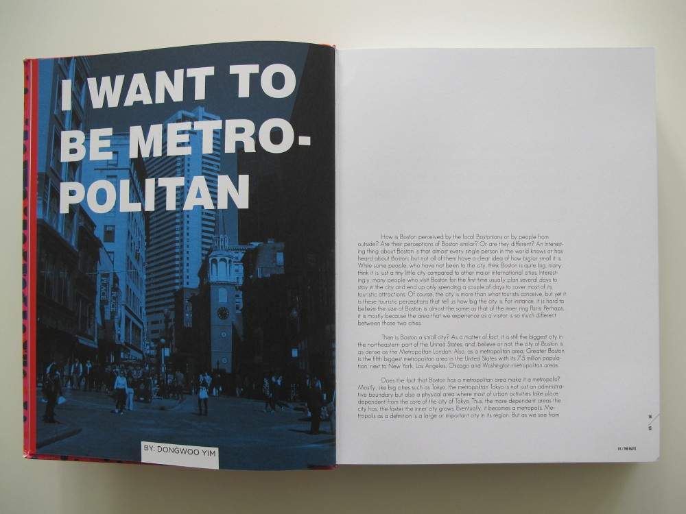 I Want to Be Metropolitan: Boston Case Study
