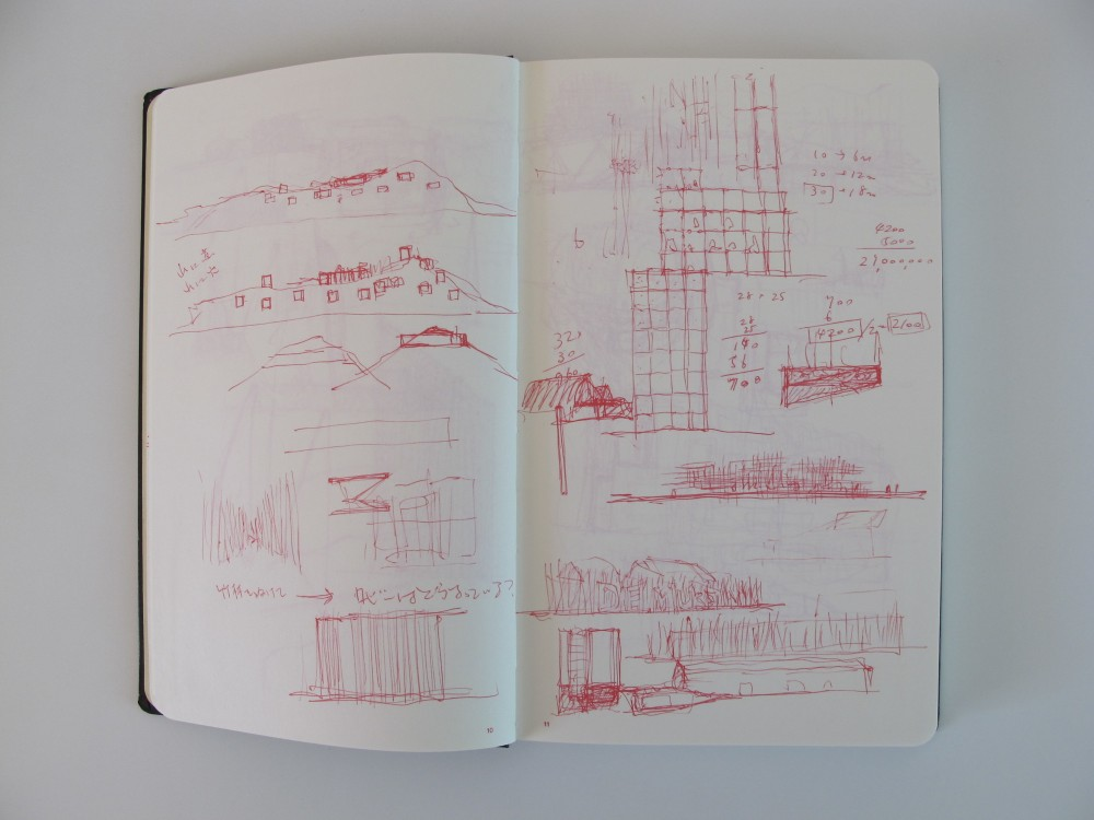 Sou Fujimoto: Sketchbook