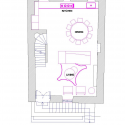 Domus Civita / Studio F First Floor Plan