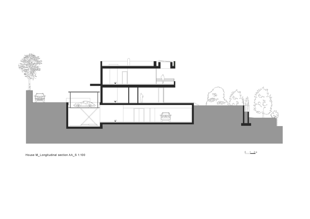 Architecture design house m monovolume architecture design