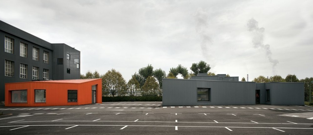 Renovation and Extension of ArcelorMittal's / [baragaño]
