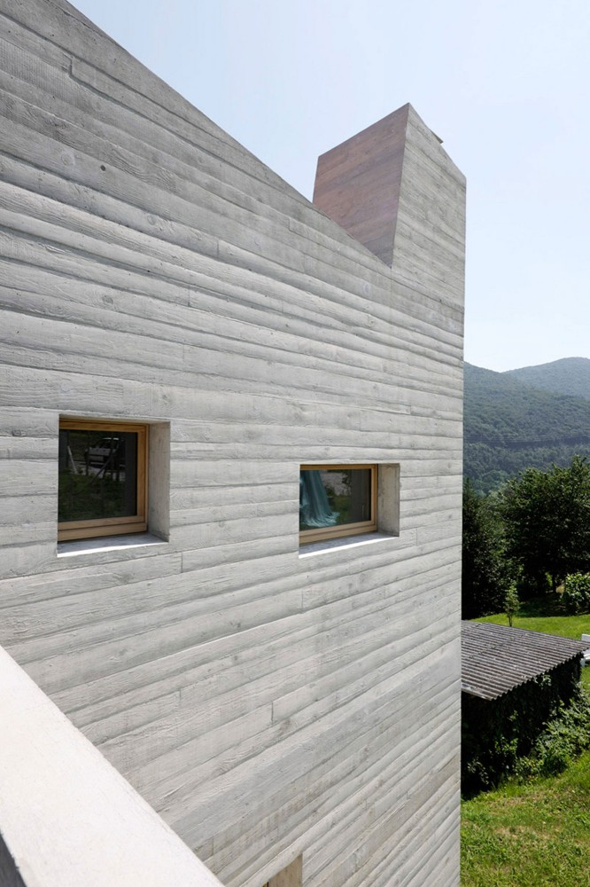 5 Houses in Barbengo / Studio Meyer e Piattini