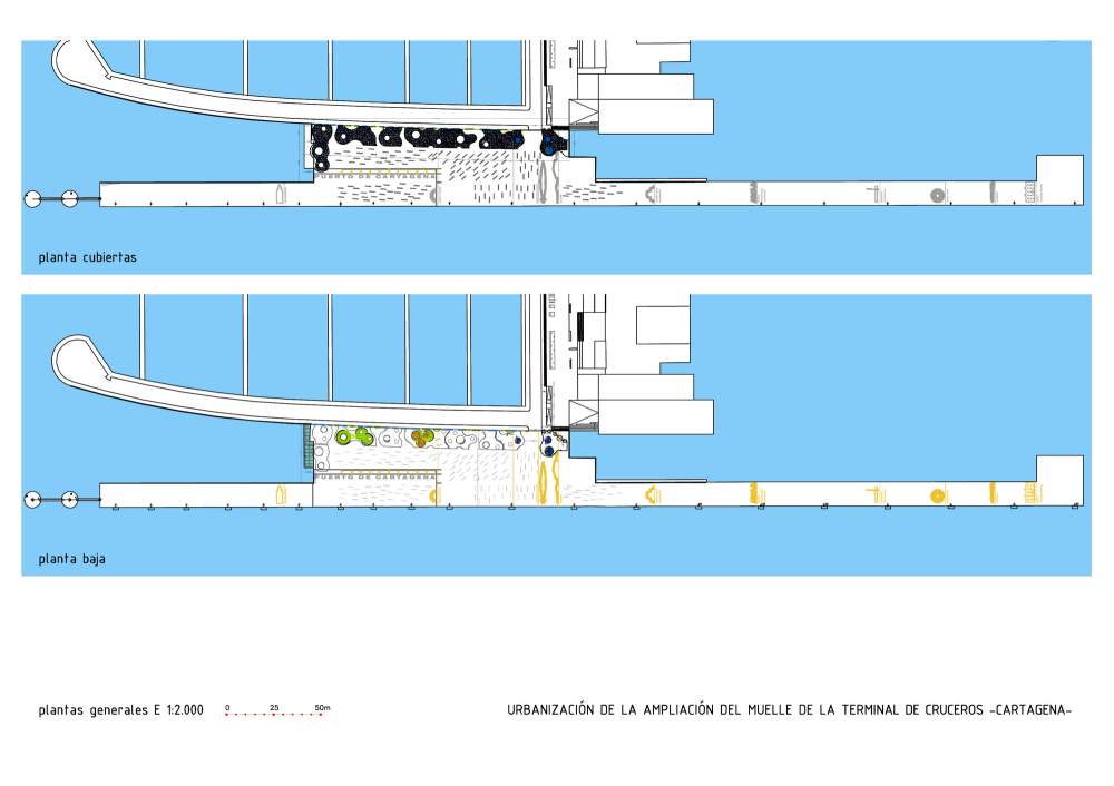 Development of Cruise Terminal Extension Project / Martn Lejarraga