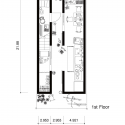 A Life With Large Opening / ON design partners First Floor Plan