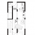 A Life With Large Opening / ON design partners Third Floor Plan