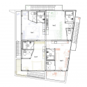 Yokohama Apartment / ON design partners Second Floor Plan