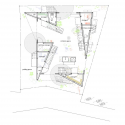 Yokohama Apartment / ON design partners First Floor Plan