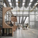 Royal Opera House Production Workshop / Nicholas Hare Architects © Hufton + Crow