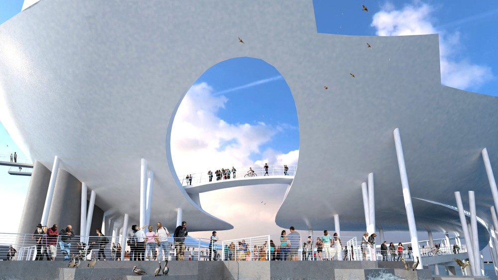 "Despite Controversy, Michael Maltzan Architecture's ""Lens"" Will Go On"