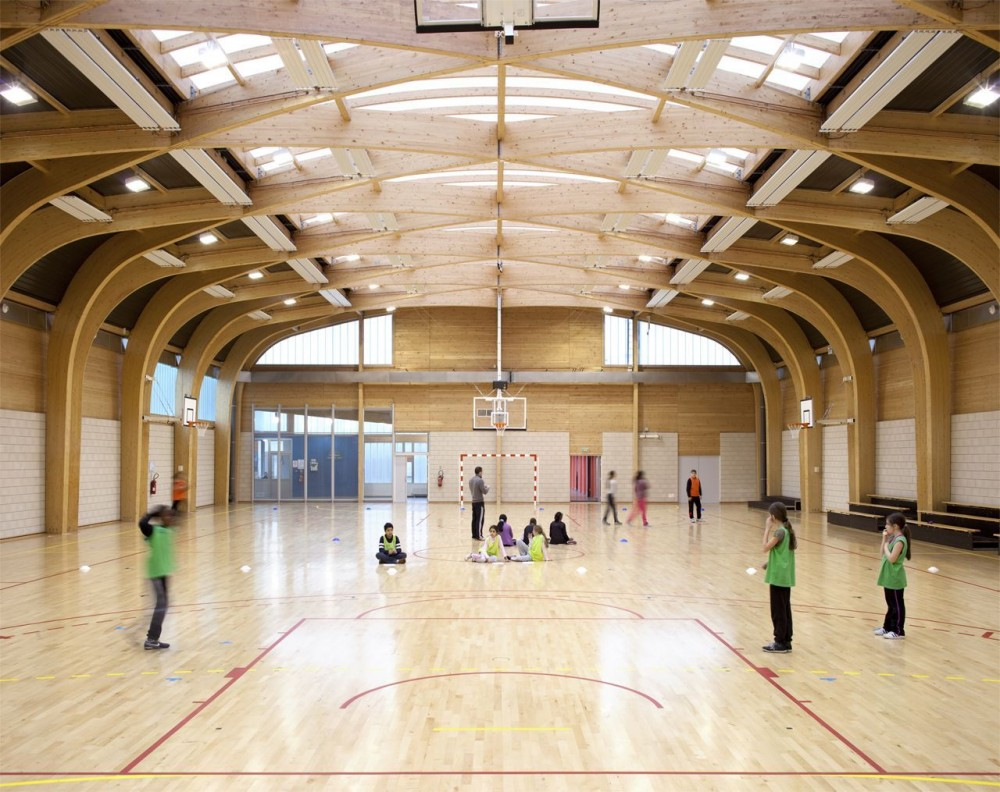 Gymnasium Rgis Racine / Atelier d&#8217;Architecture Alexandre Dreyss