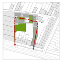 Apartments BUSO / dmvA Architecten Site Plan