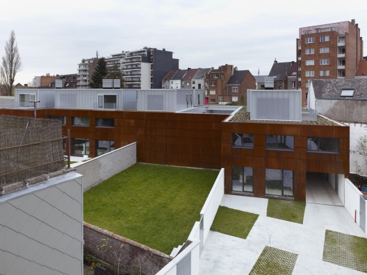 Apartments BUSO / dmvA Architecten  Frederik Vercruysse