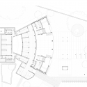 Teatro Universitario Carlos Cueva Tamariz / Javier Durán Ground Floor Plan