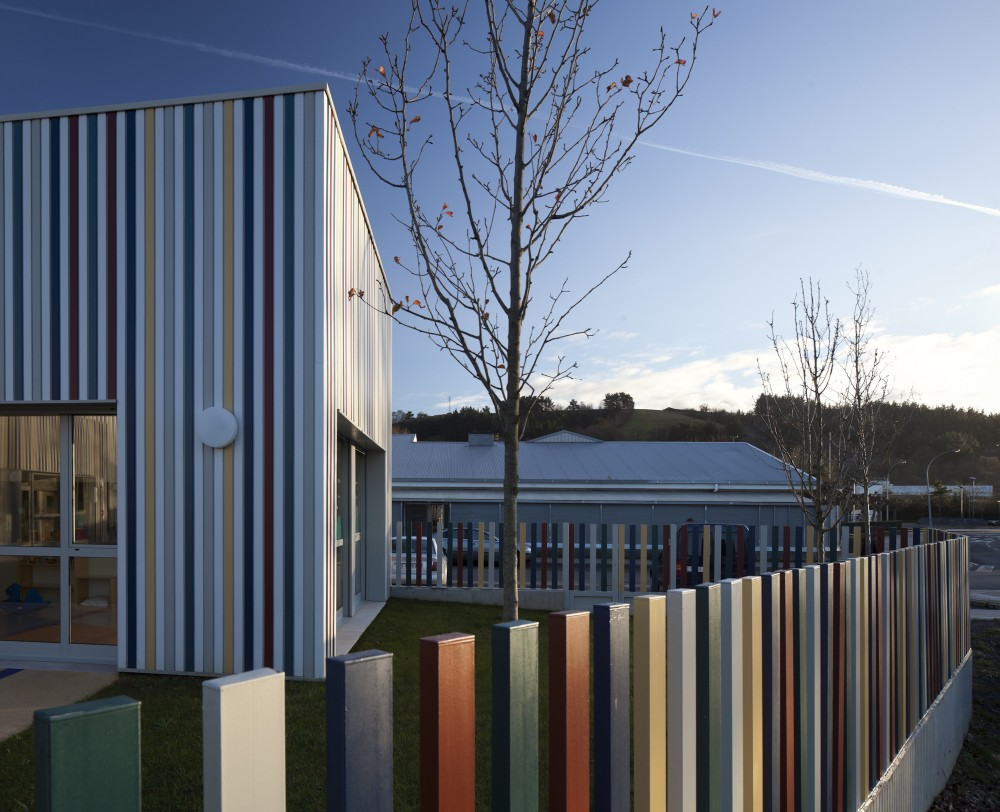 Nursery in Zarautz / Ignacio Quemada Arquitectos