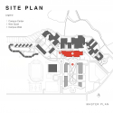 Stockton Campus Center / KSS Architects + VMDO Architects Site Plan