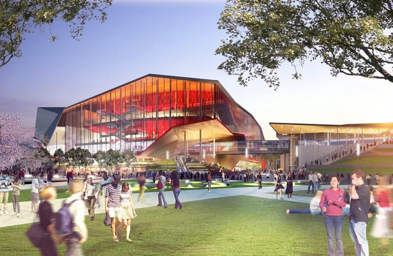 HASSELL, OMA, and Populous To Redevelop Sydney Harbour