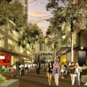 HASSELL, OMA, and Populous To Redevelop Sydney Harbour The Haymarket, Little Hay Street. Image © SICEEP