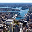 HASSELL, OMA, and Populous To Redevelop Sydney Harbour Masterplan, view from the south. Image © SICEEP