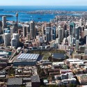 HASSELL, OMA, and Populous To Redevelop Sydney Harbour Masterplan, view from the west. Image © SICEEP