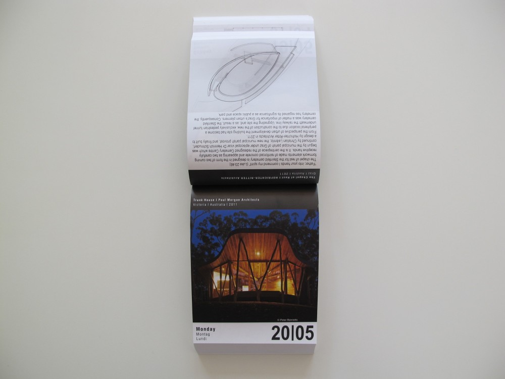 2013 ARCHIPENDIUM Architectural Calendar