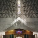 Photography: Mid-Century Modern Churches by Fabrice Fouillet Pietro Belluschis Church of Mary of the Assumption, San Francisco, 1971. Photo Fabrice Fouillet