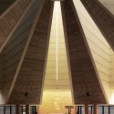 Photography: Mid-Century Modern Churches by Fabrice Fouillet Mario Bottas Santo Volto in Turin, Italy, completed in 2006. Image  Fabrice Fouillet